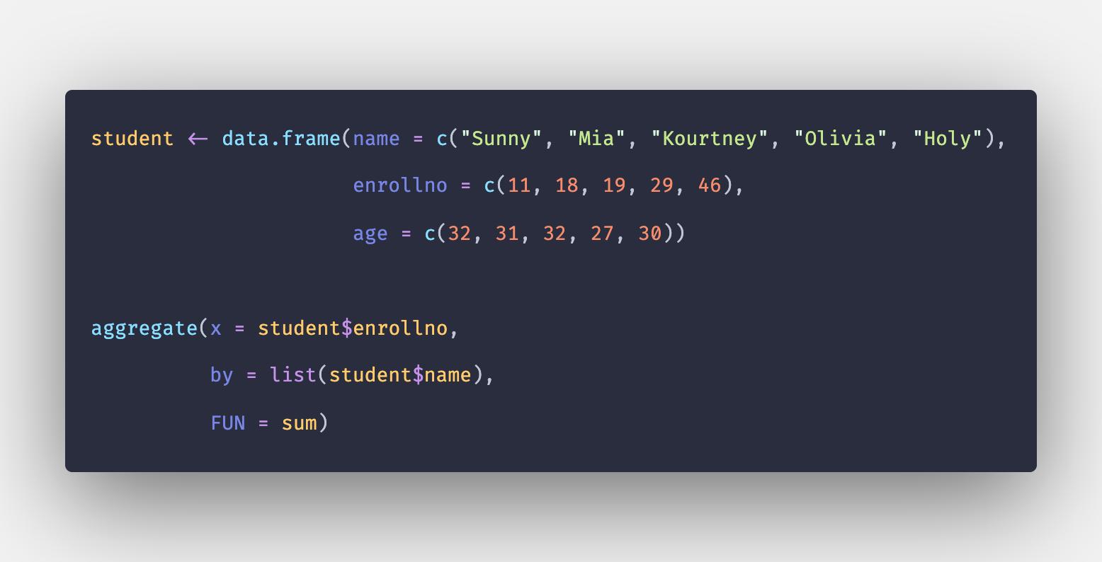 Sum in R - How to Find Sum of Vectors in R