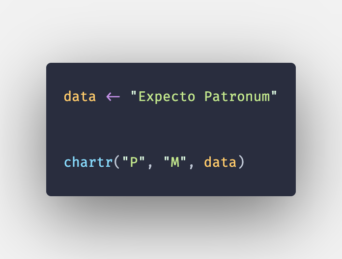 R chartr() Function - How to Substitute characters of String