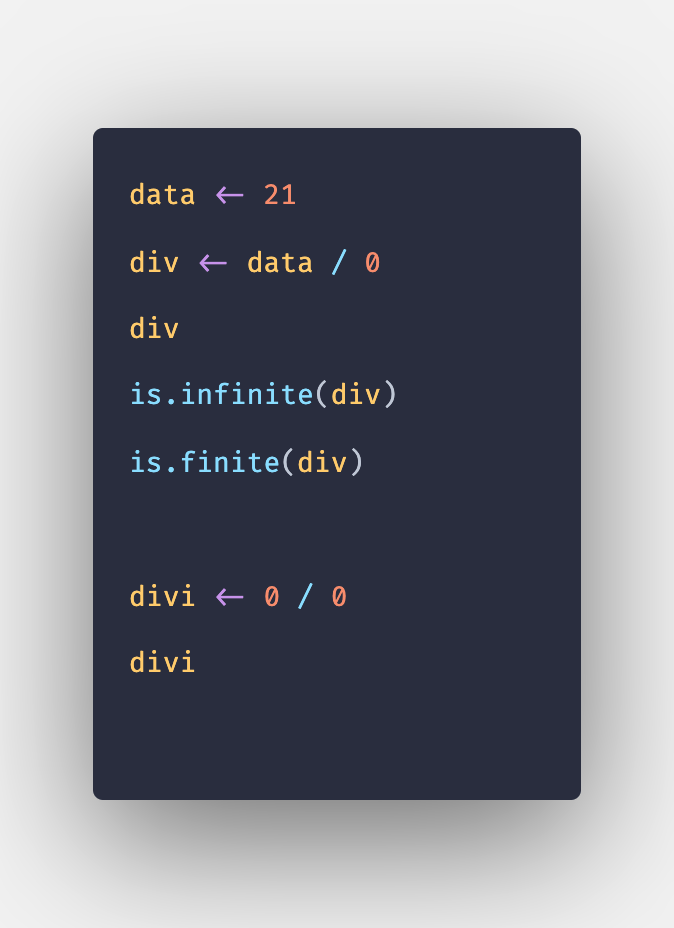 R Infinity - How to Handle Infinity in R